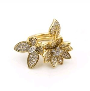 Kate Spade Limited Edition Floral Ring